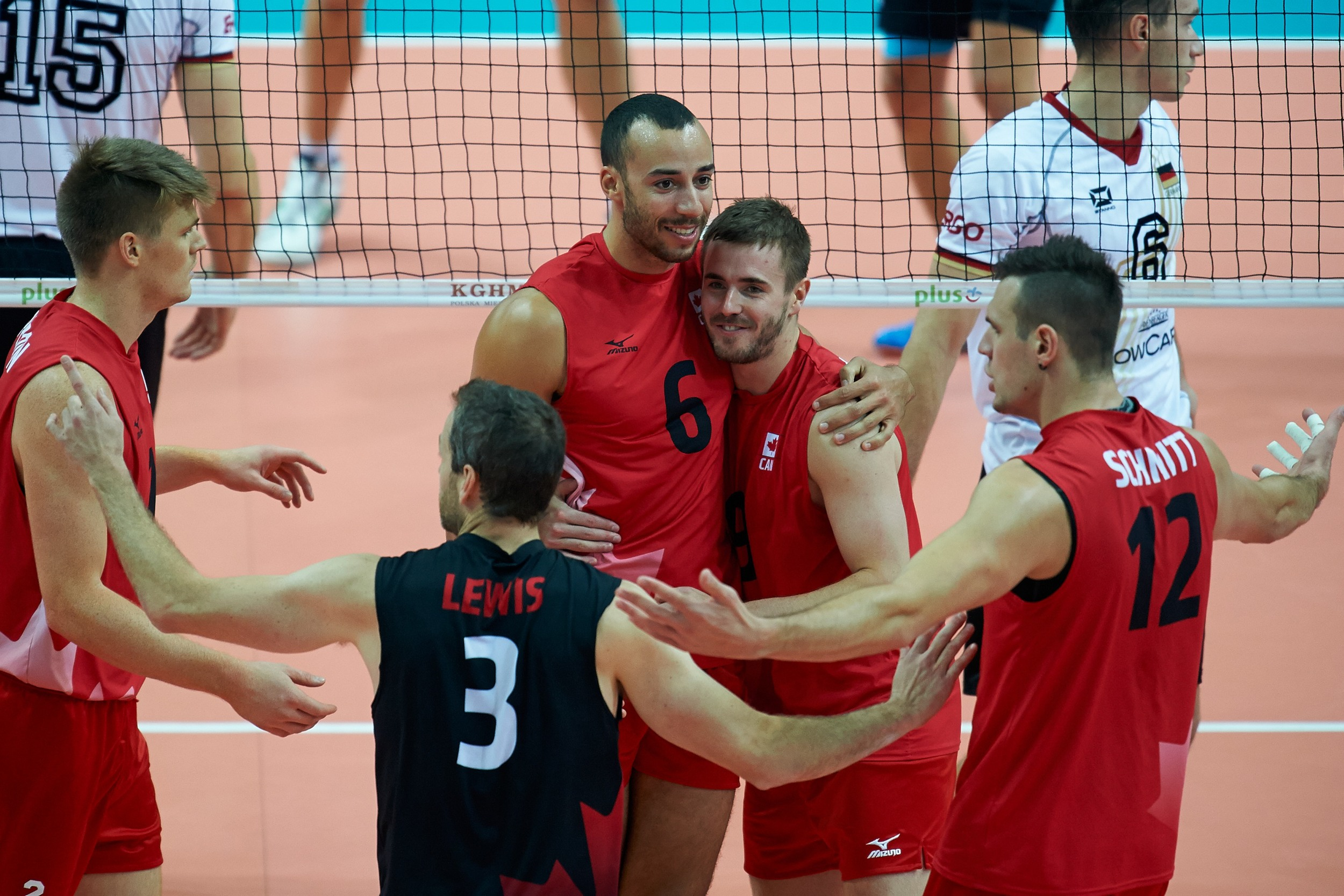 Canada fell to Germany 3-0 on Sunday, ending their tournament with a seventh-place finish - a best-ever result at the FIVB World Championships.  Photo: FIVB