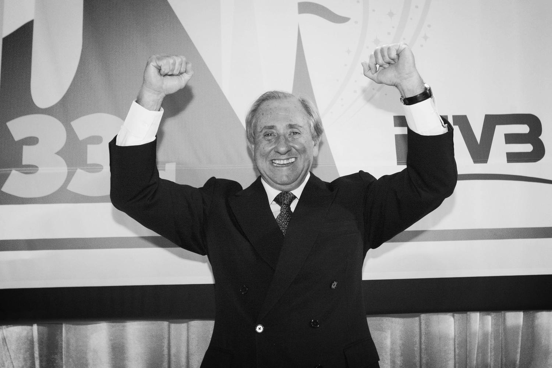 FIVB President and former CBV President AryGraça. Photo: FIVB