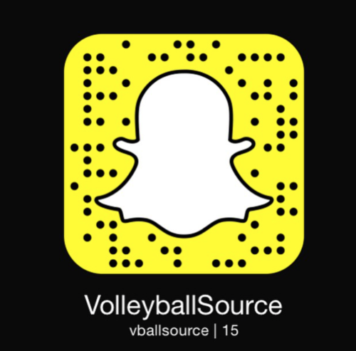 Add us on snapchat! Username: vballsource