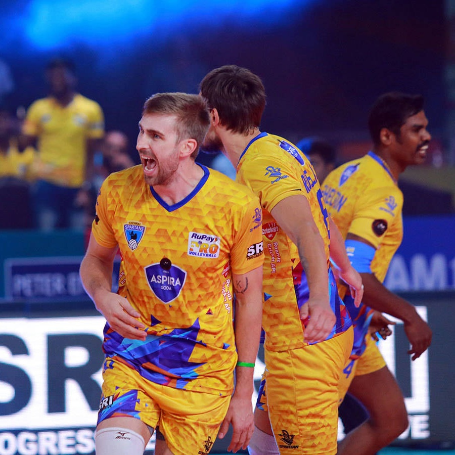 Rudy Verhoeff leads Pro Volleyball India in scoring heading into the Finals - scoring 77 points in 6 matches, averaging 15.6 points/set.