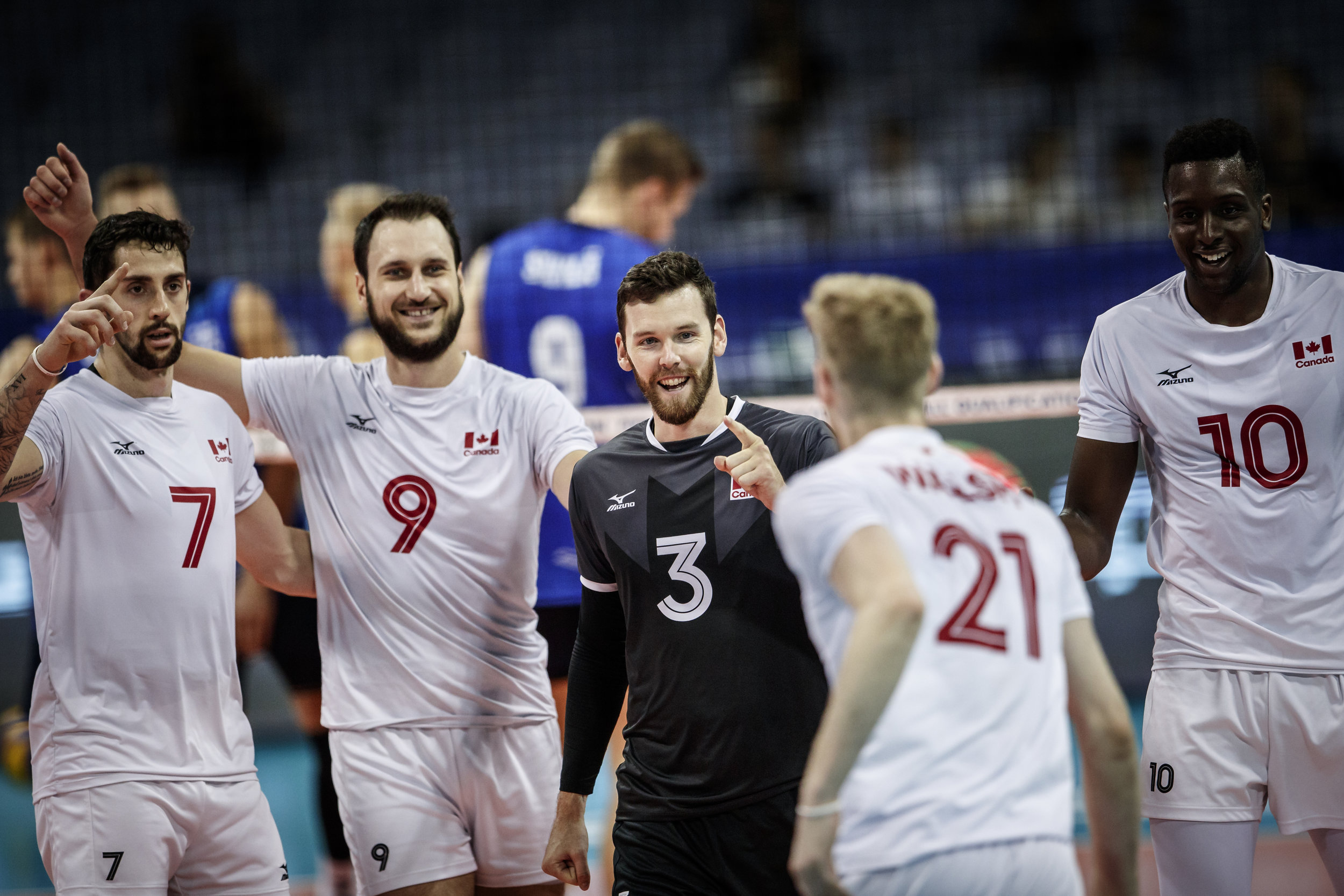 The Maple Volleys kick off their World Cup campaign on October 1st against World No. 1 Brazil and finish October 14th against hosts Japan. Photo: FIVB