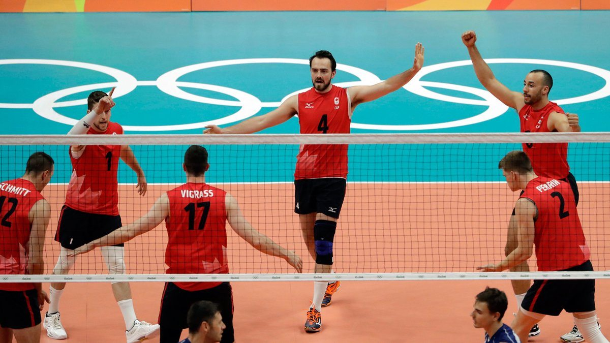 The Maple Volleys qualified for the Olympics for the first-time in 20-years in 2016. Can they do it again and go back-to-back? Photo: FIVB