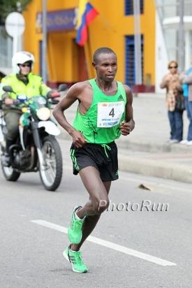 Geoffrey Mutai - winner of the 2011 and 2013 ING New York City Marathon. But I wonder how many pull-ups he can do.