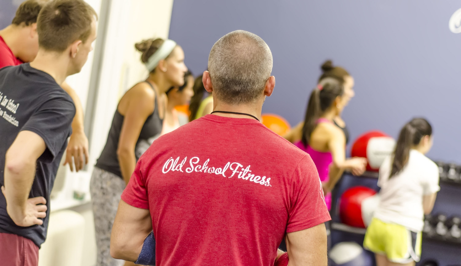 Old School Fitness   So much fun you'll forget you're working out   ATTEND A CLASS