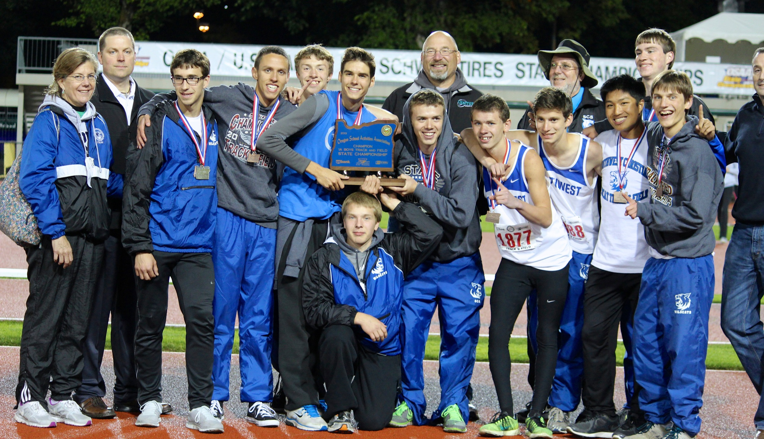 Boys Track and Field at the State Meet