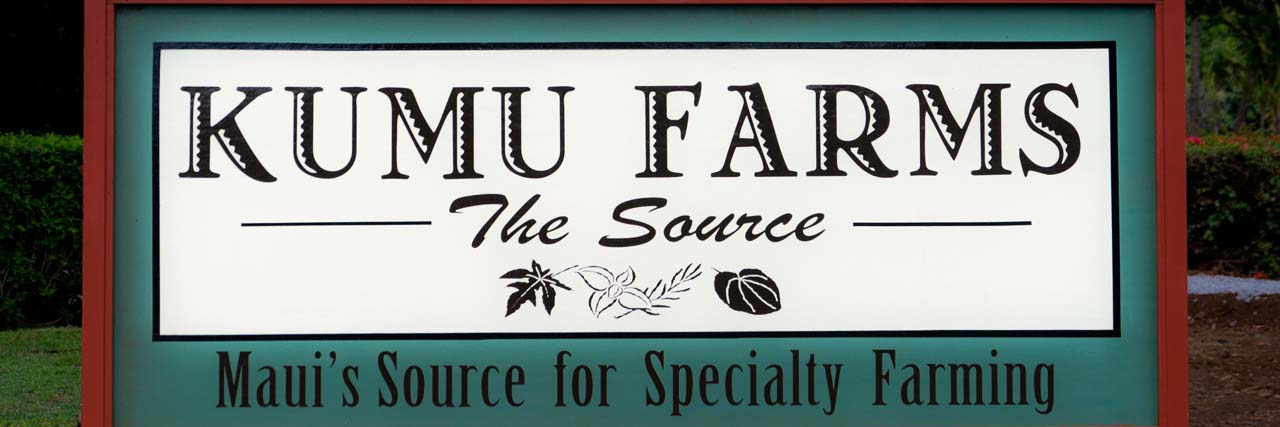 Kumu Farms at The Maui Tropical Plantation