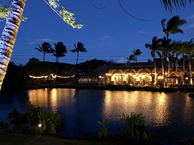 When the sun sets, we shine. ✨  #millhousemaui #maui #mauidining #diningwithaview #mauitropicalplantation #hawaii #mauihawaii #mauidining #diningmaui