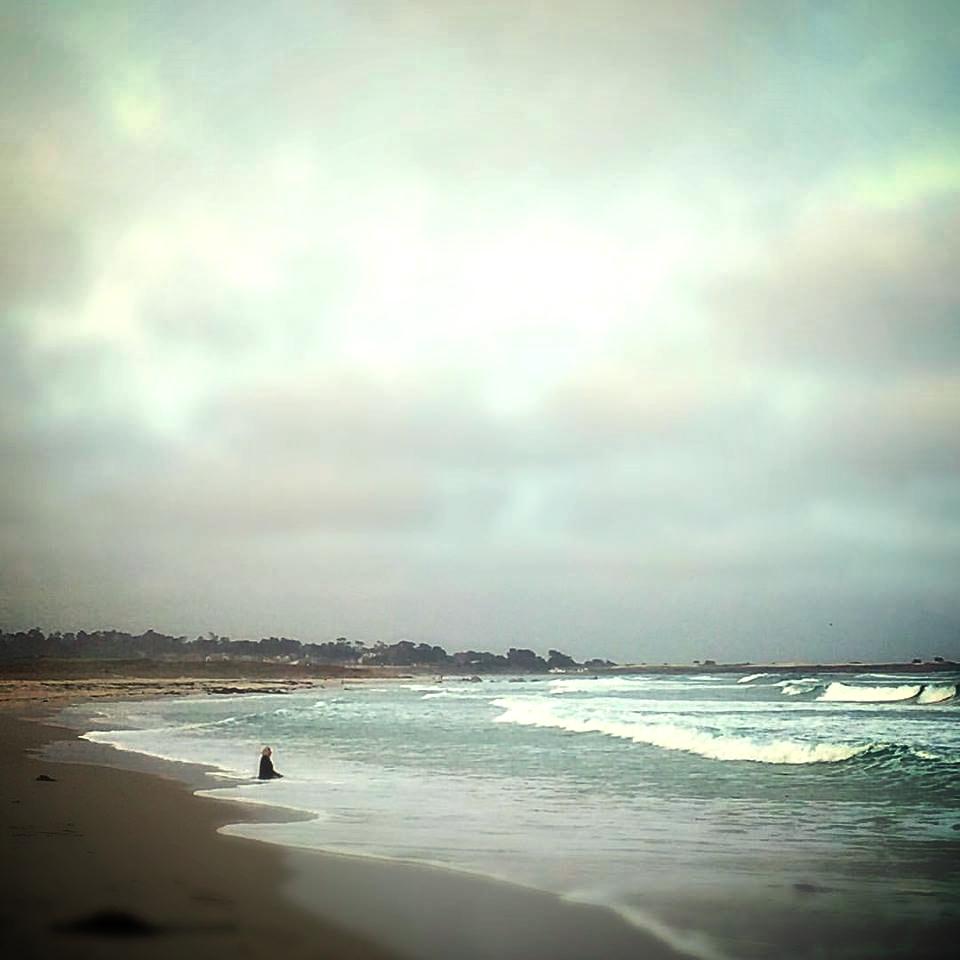 Photo by DeAnn Olsen taken on the shores near Asilomar the morning of Sunday, September 27