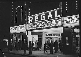 The Regal Theater at 4710 South Parkway in 1941.