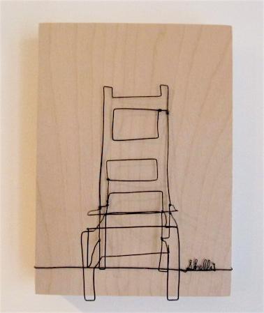 wire art furniture