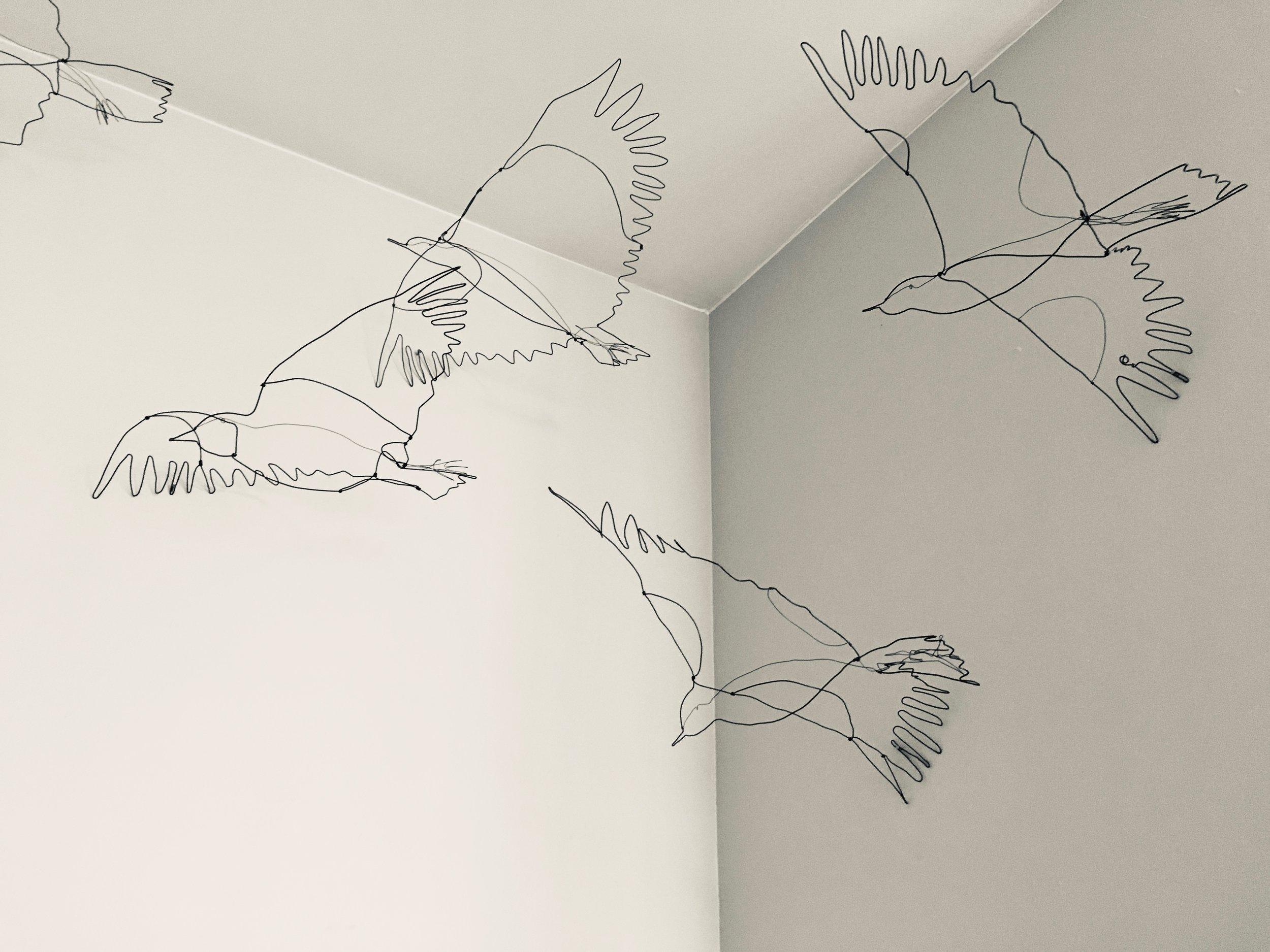 Wire Flock