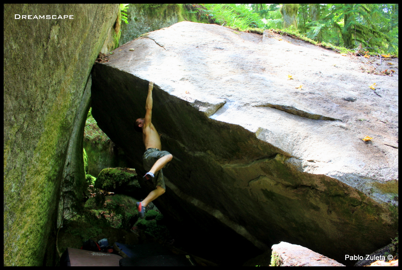 Sticking the lip of Dreamscape-V9