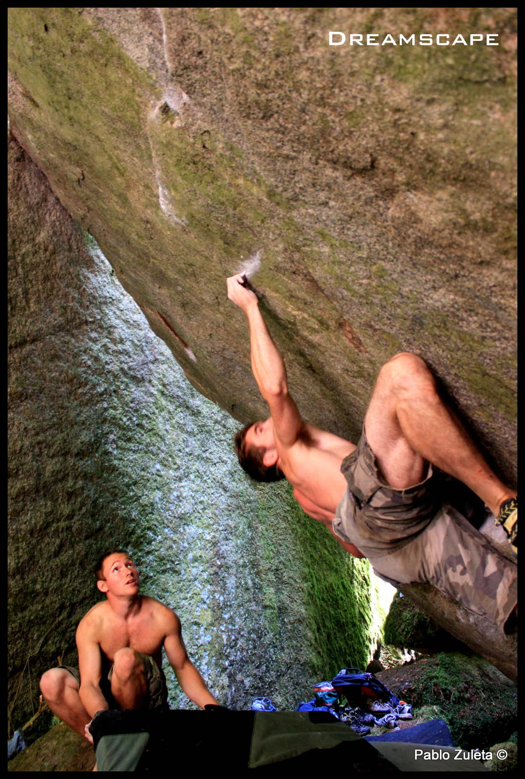 Joel on the crux of Dreamscape