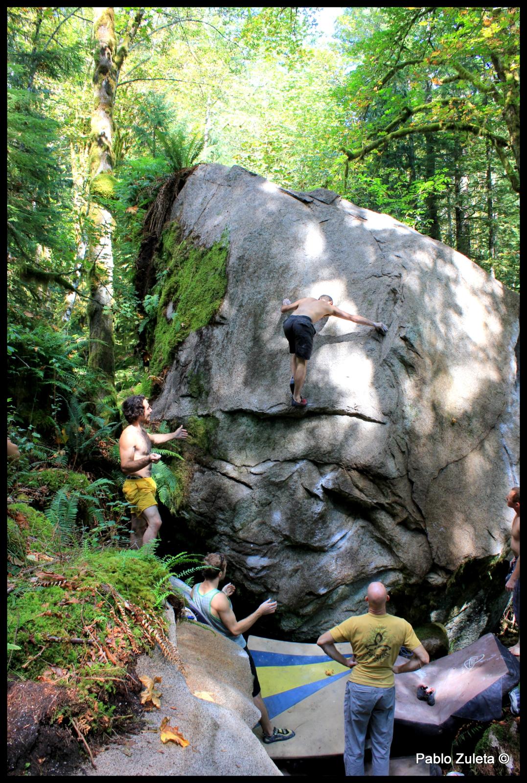 Ben O'Connell climbing Concious Sedation.