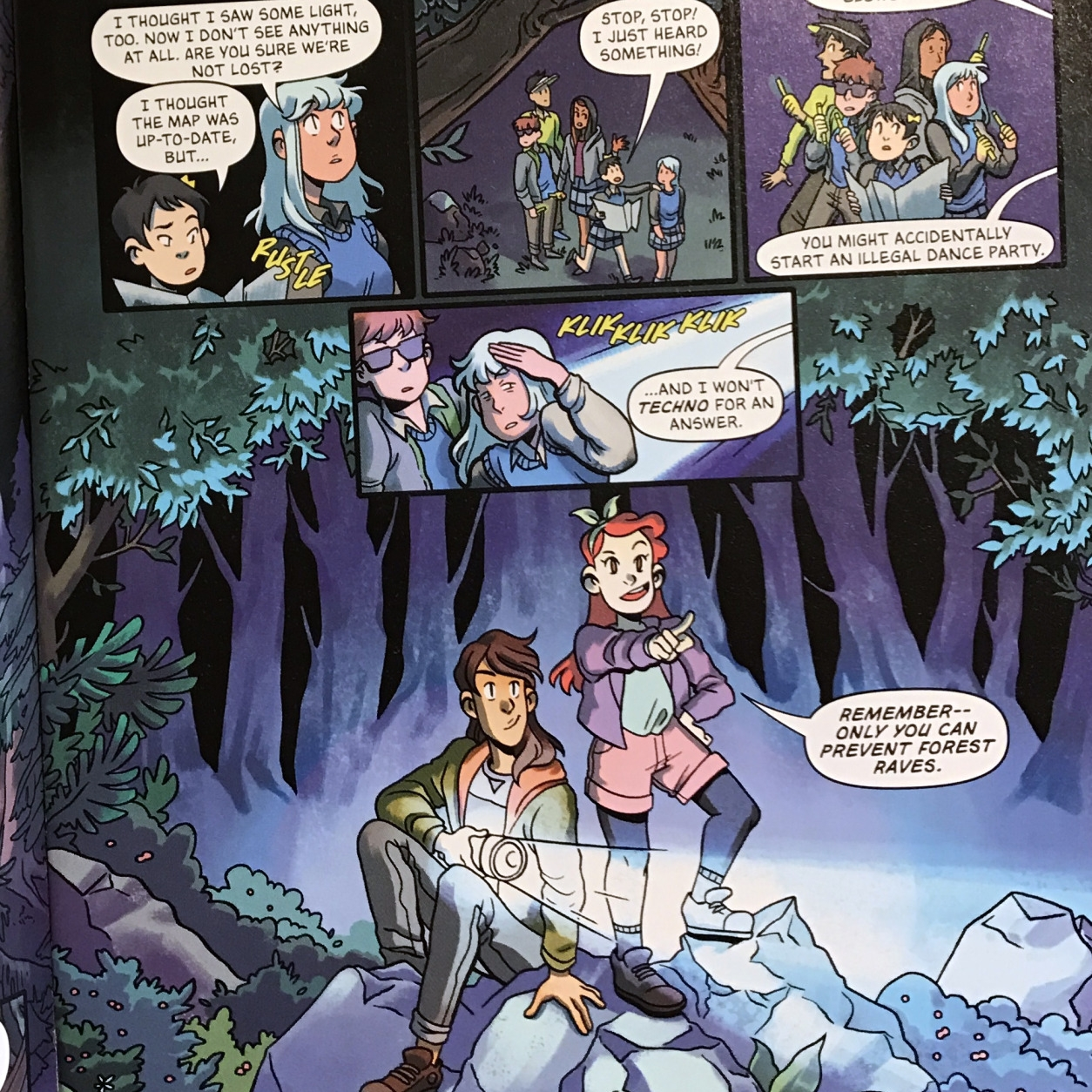 Great Charlotte Hawkins Brown! The Lumberjanes have teamed up with the students of Gotham Academy to make the world a better place.