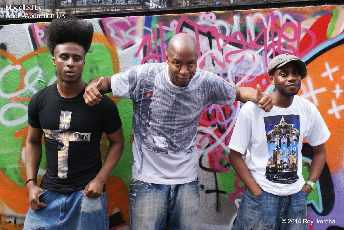 Audio Abduction UK: featuring Jumeee, Wayne Thompson and Nathan (Naw)