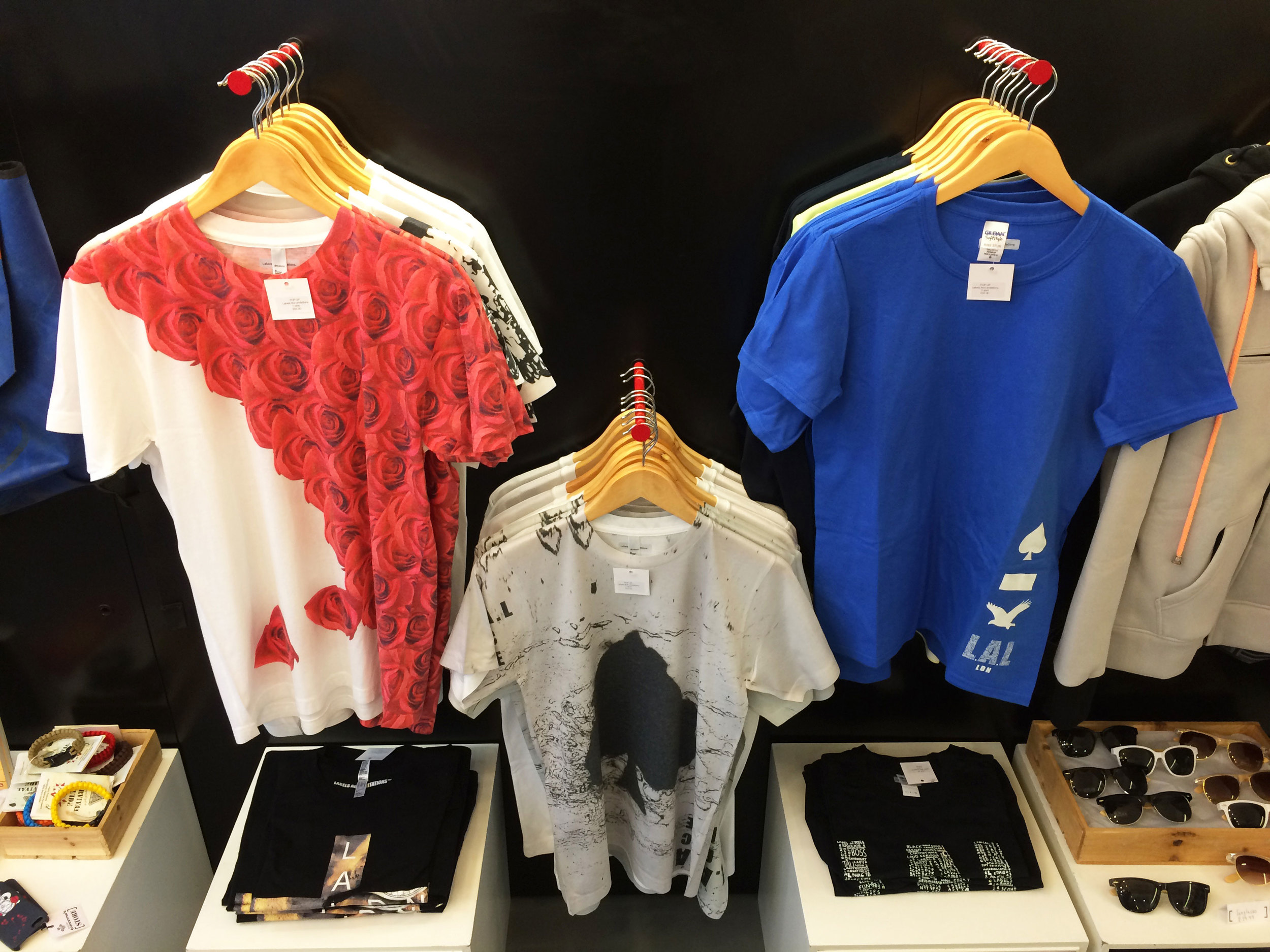 Photos of The Labels Are Limitations® pop-up inside The Prince's Trust: Tomorrow's Store
