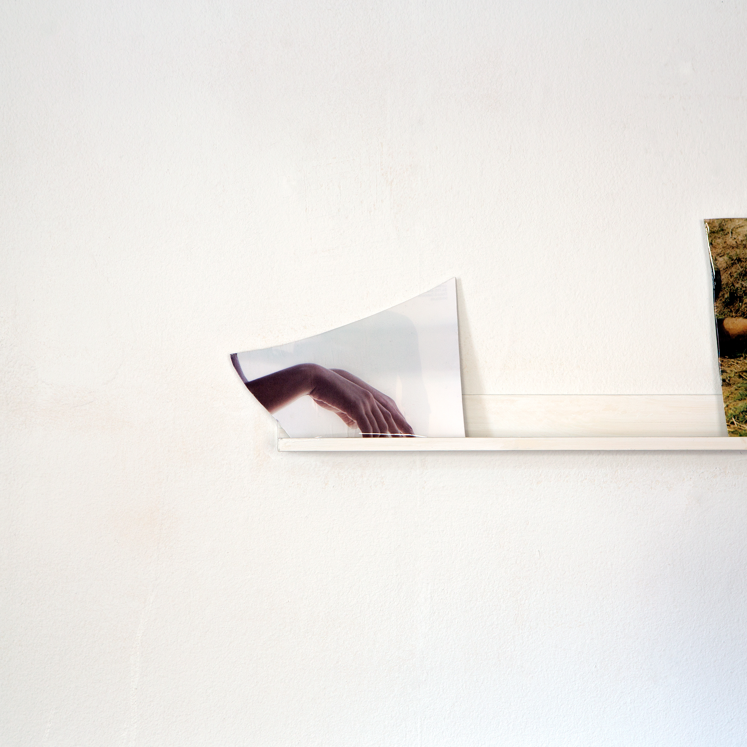 I am at a loss for words, but I am still speaking  resin, found photograph, 2015   Statement + Info