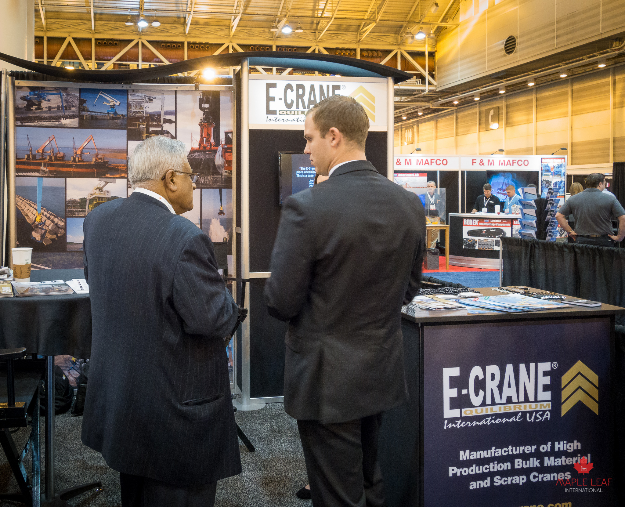 We visited the  E-Crane Worldwide  booth.
