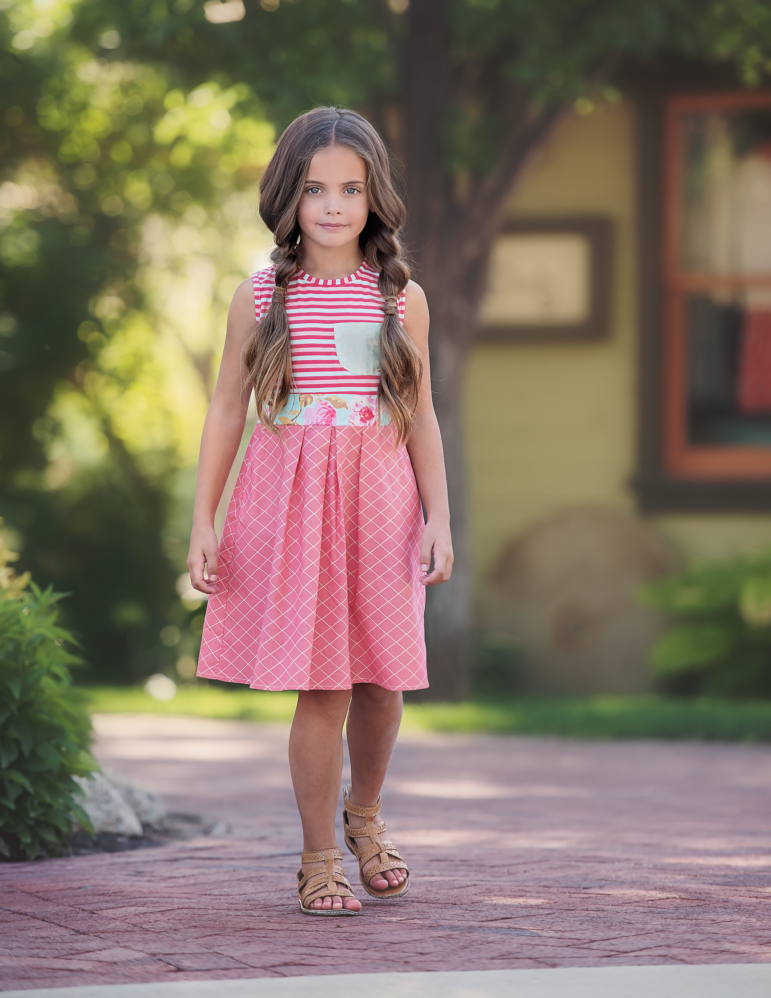 Persnickety Sage Dress