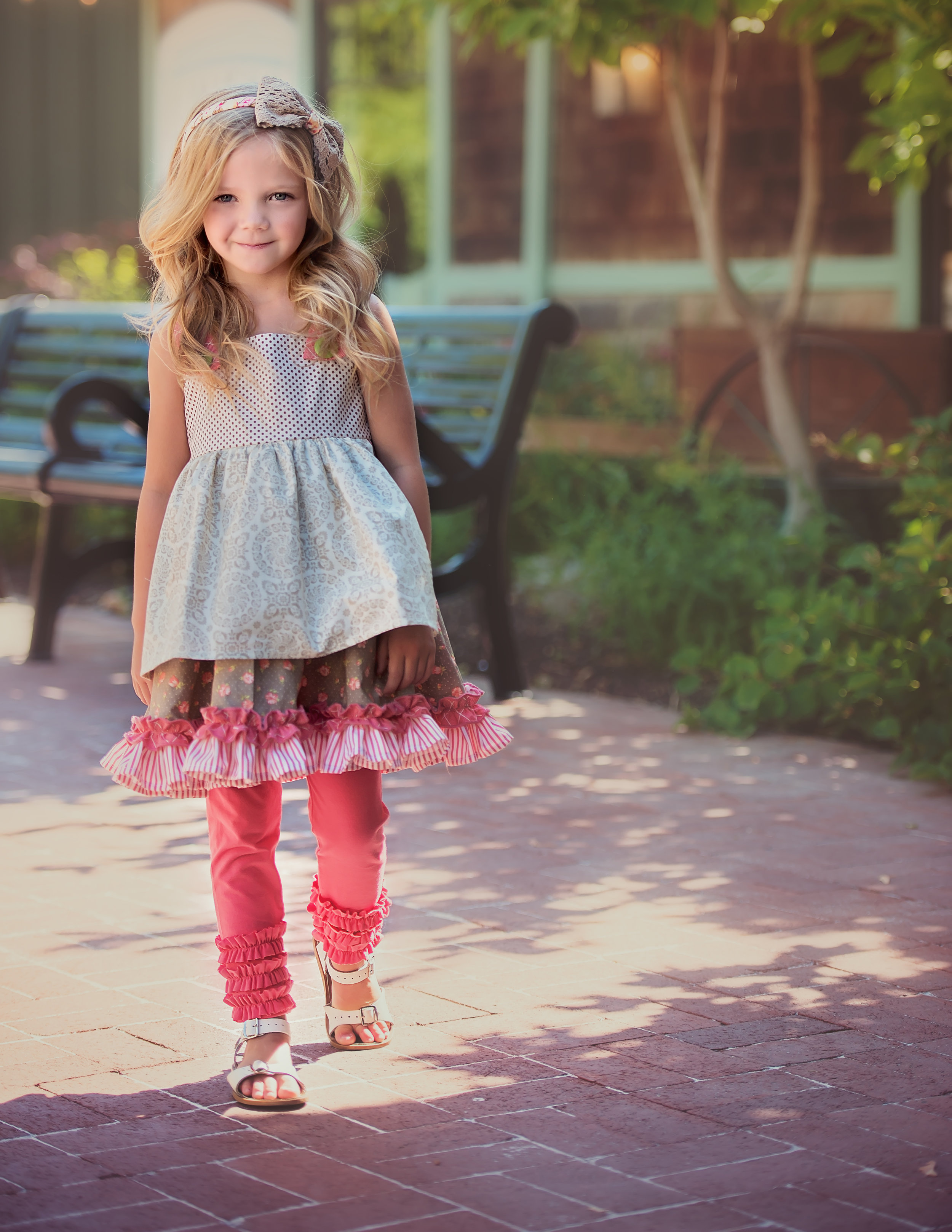 Persnikety Charlotte Dress and Gracie Leggings
