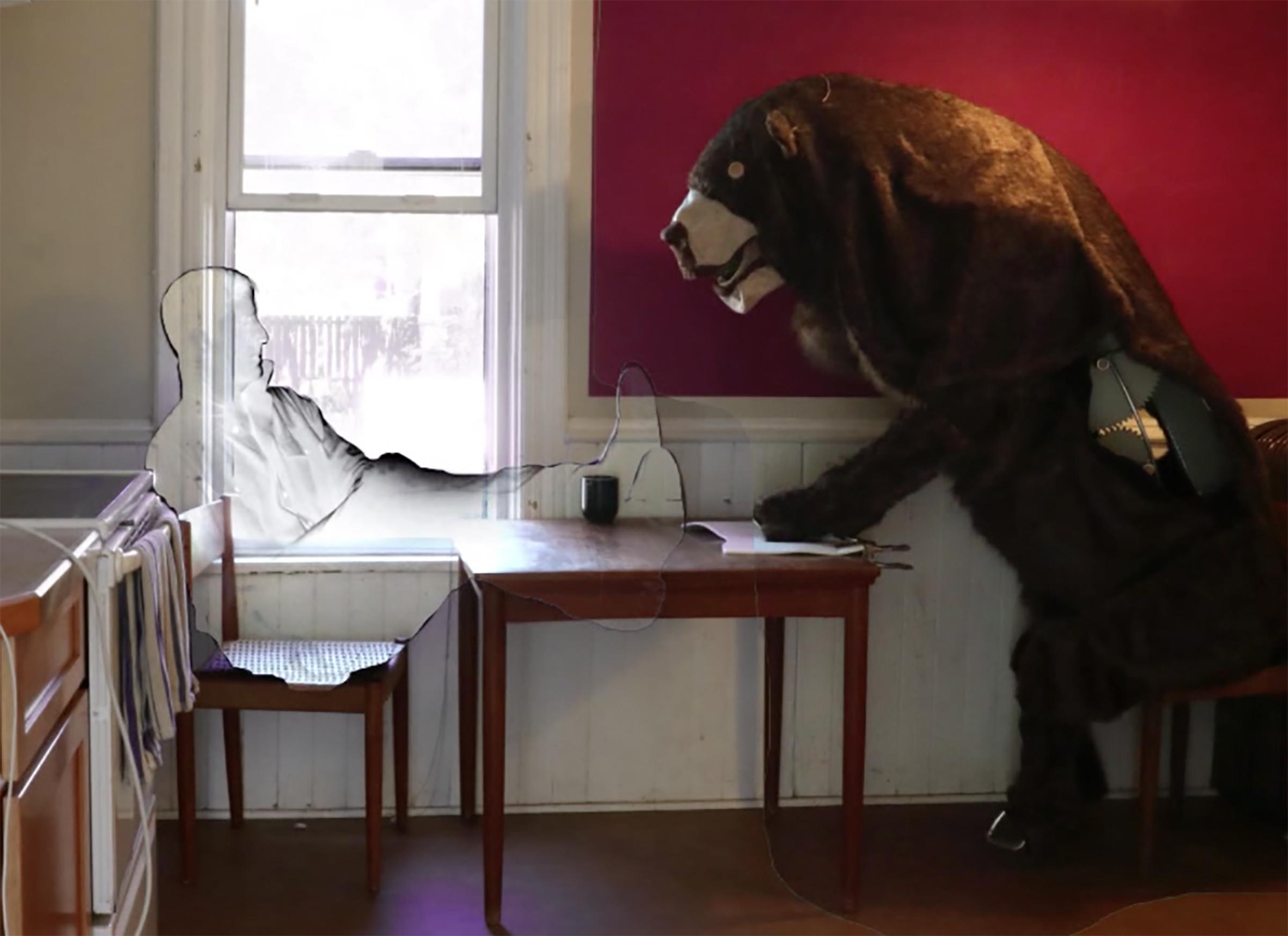 Mechanical Bear, 2017 (Stop-motion still)