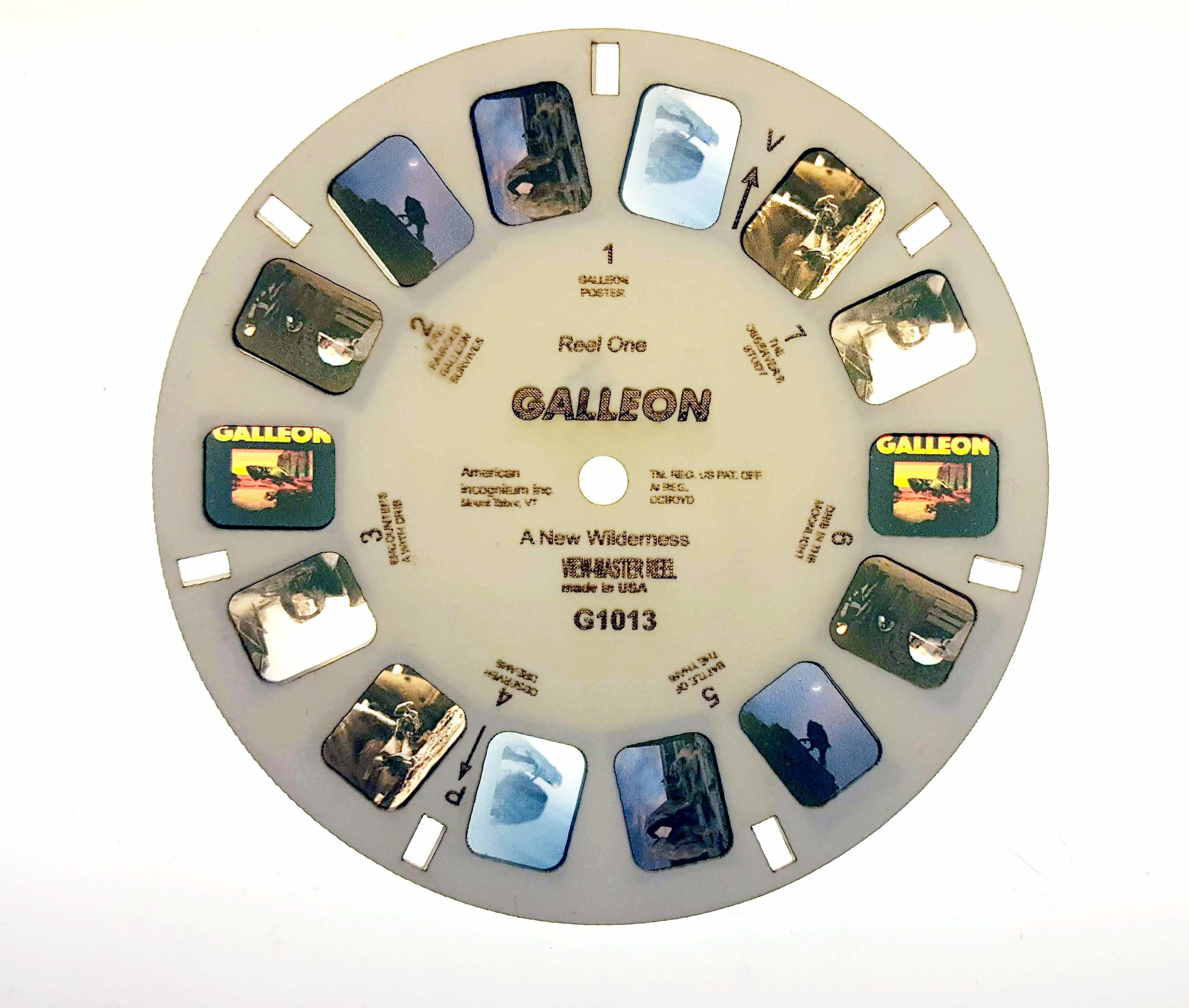 View-Master reel of Galleon