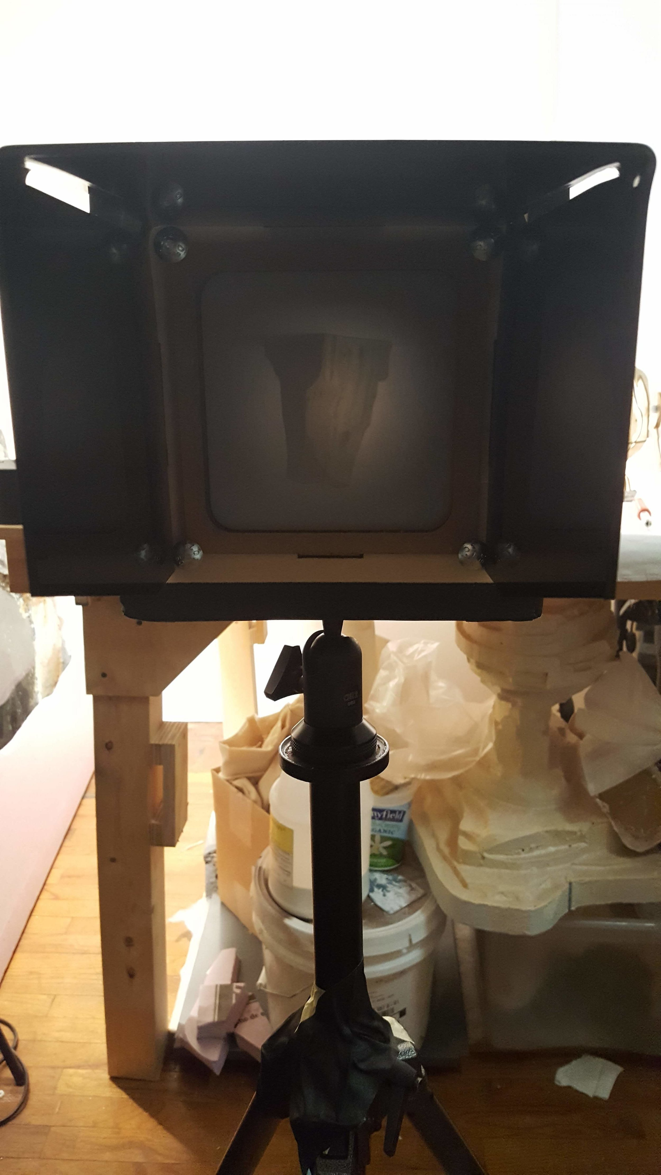Obscura device for capturing video
