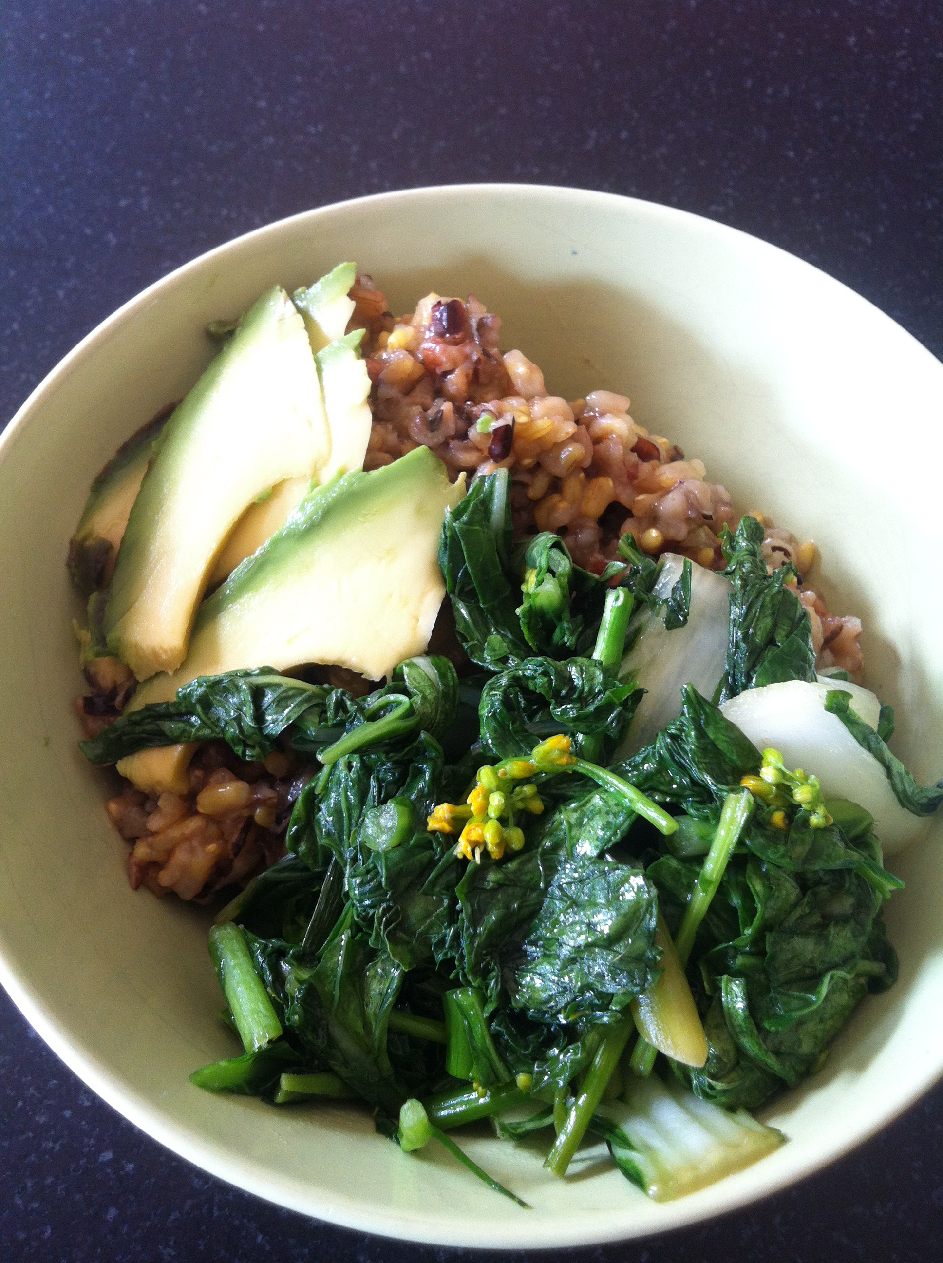 Rice bowl goodness.