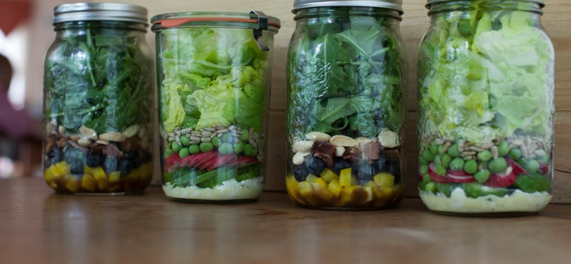 May all your jars filled with healthy food be as pretty as these!