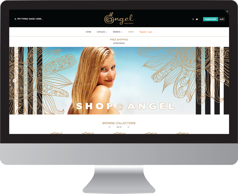 Angel Boutique Website Design