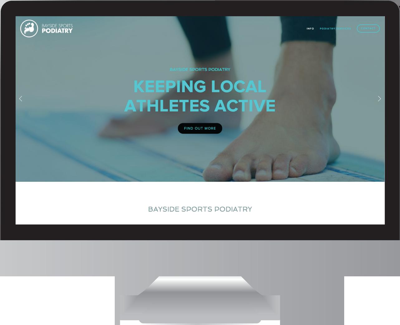 Bayside Podiatry Website Design