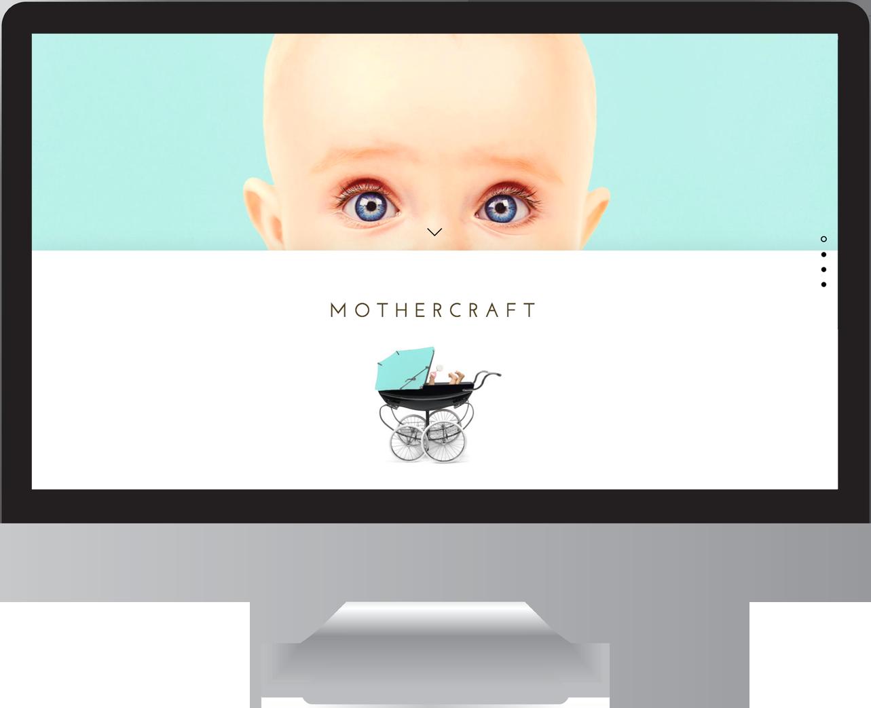 Baby Care Website Design