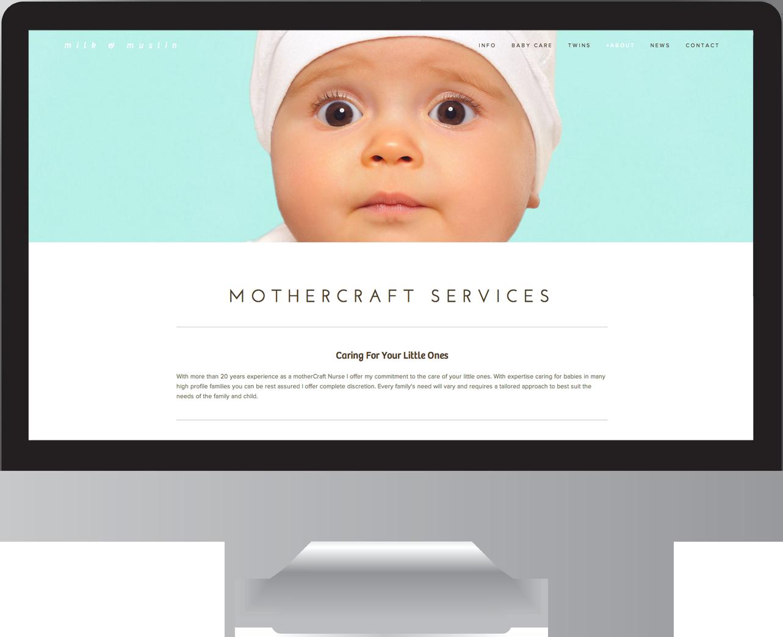 Mothercraft Website Design