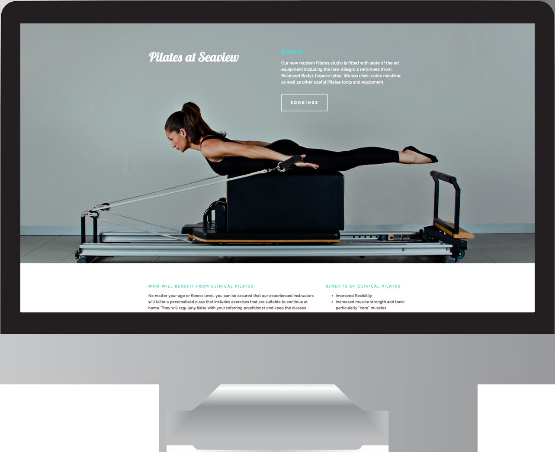 Seaview Health Group Website Design
