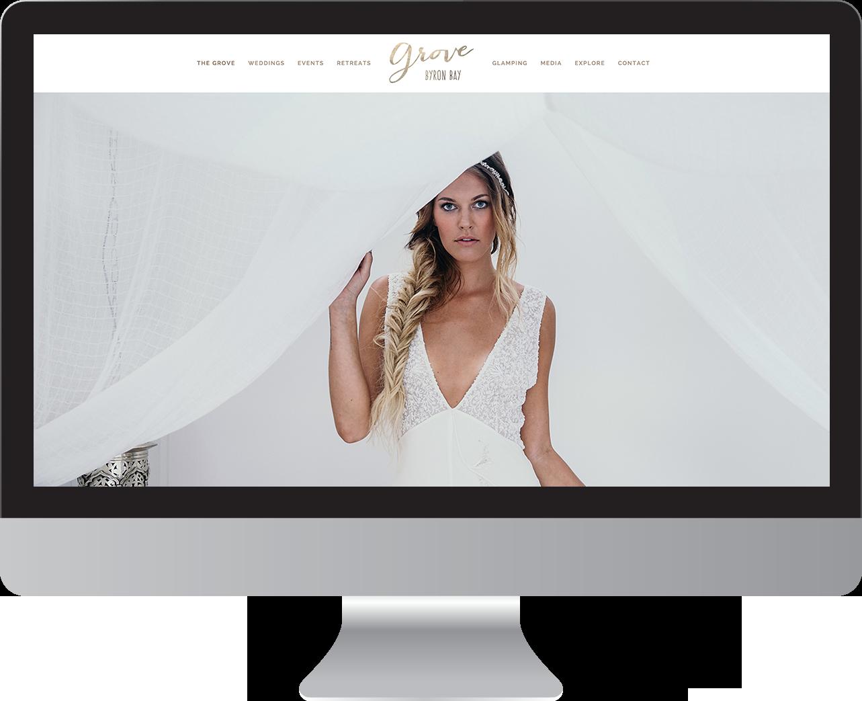 The Grove Byron Bay Website