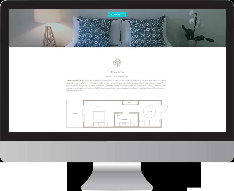 Satara Byron Bay website designer