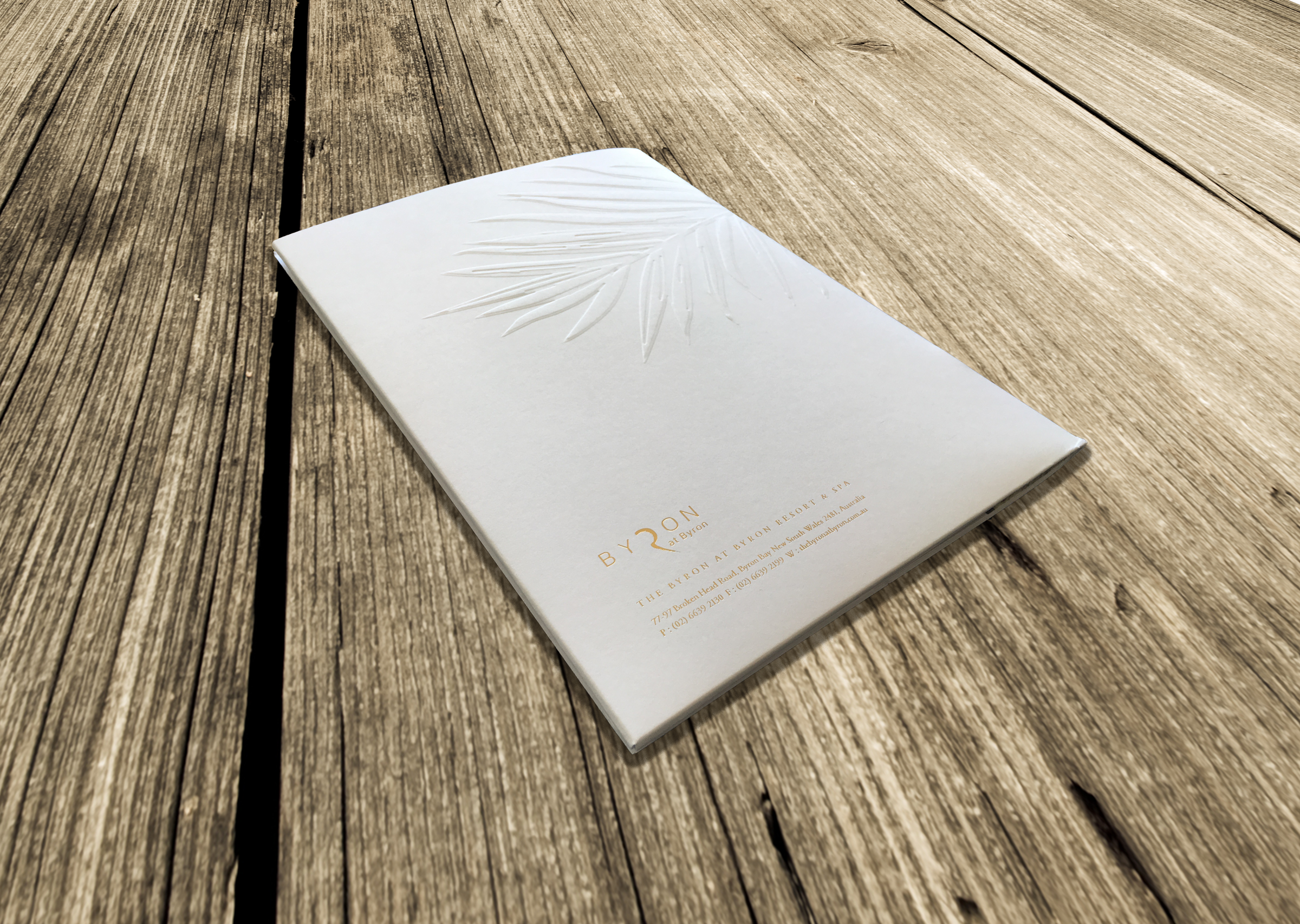 Wedding Brochure Design - Byron at Byron Resort and Spa