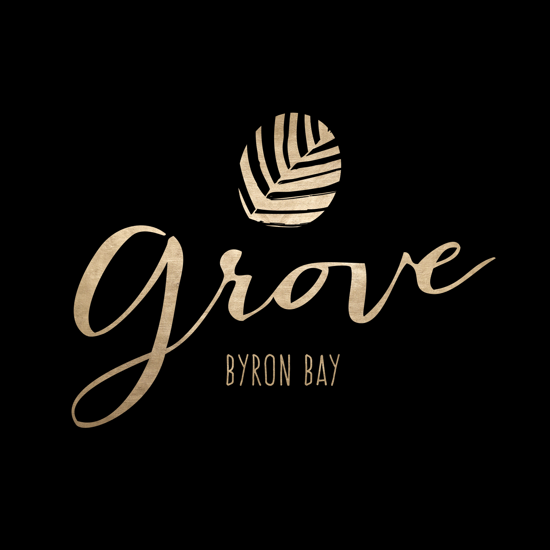 The Grove Byron Bay Logo Design
