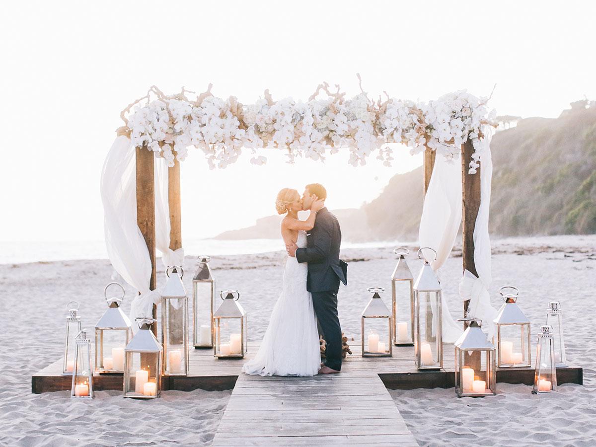 Destination wedding. Photo credit: Brandon Kidd Photography (via The Knot).