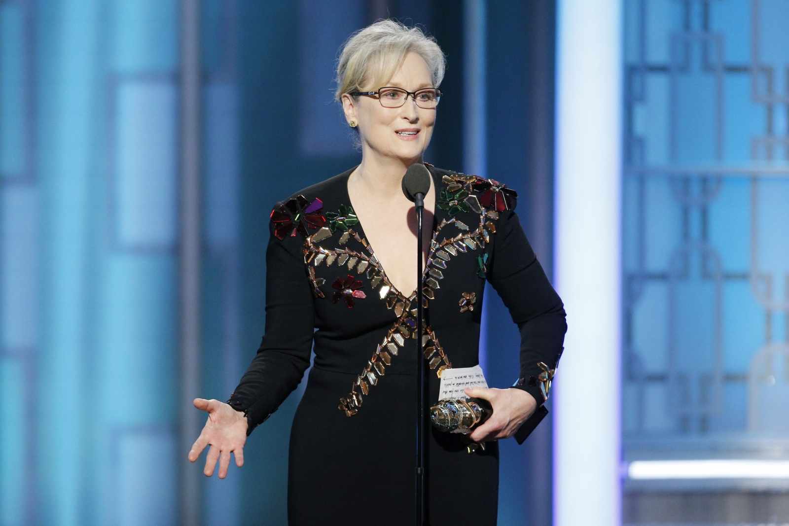"""Disrespect invites disrespect, violence incites violence. When the powerful use their position to bully others we all lose"" - Meryl Streep"