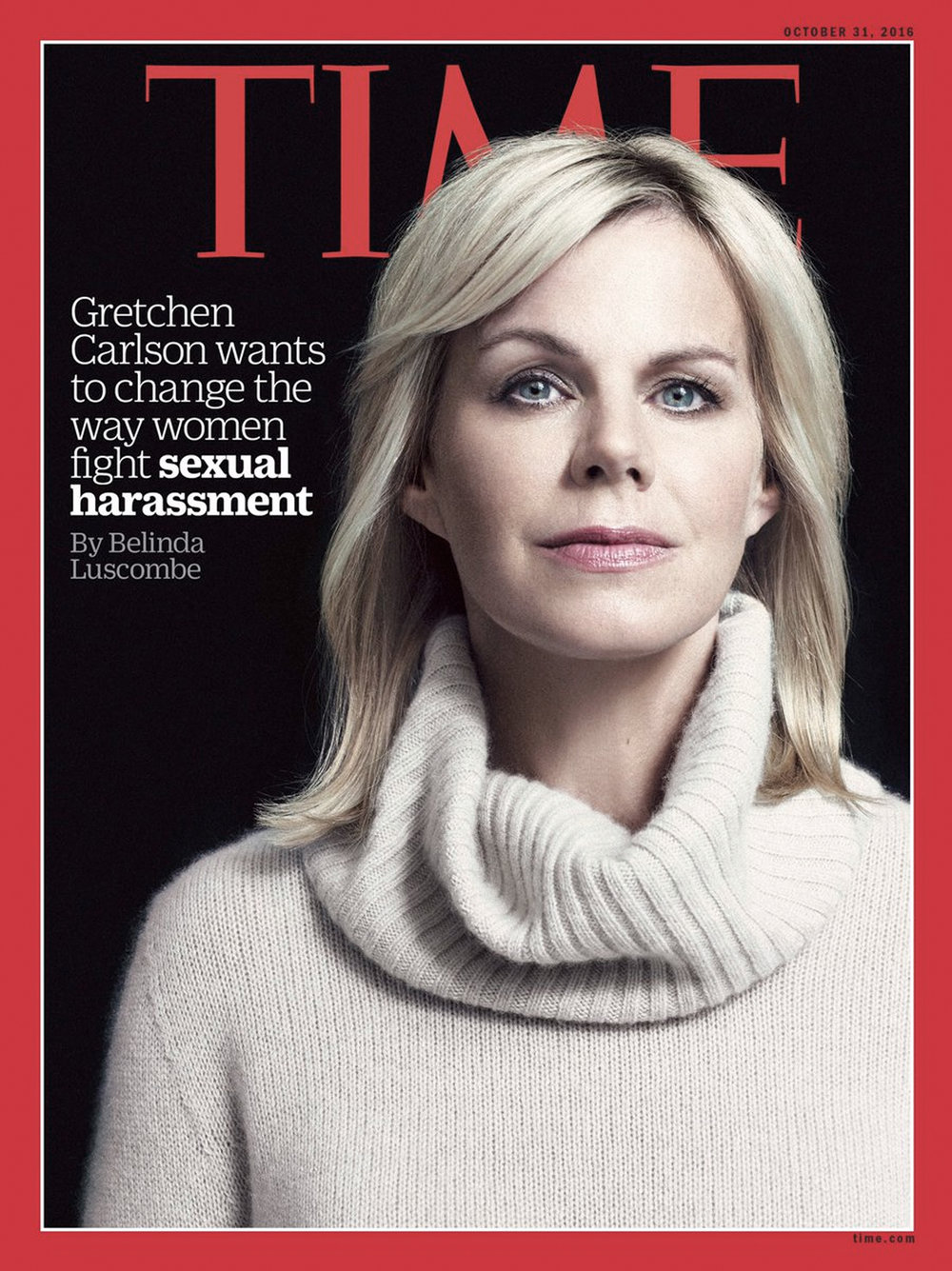 Time's cover of Gretchen Carlson