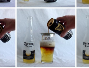 Learn the Guinness & Corona Pour -