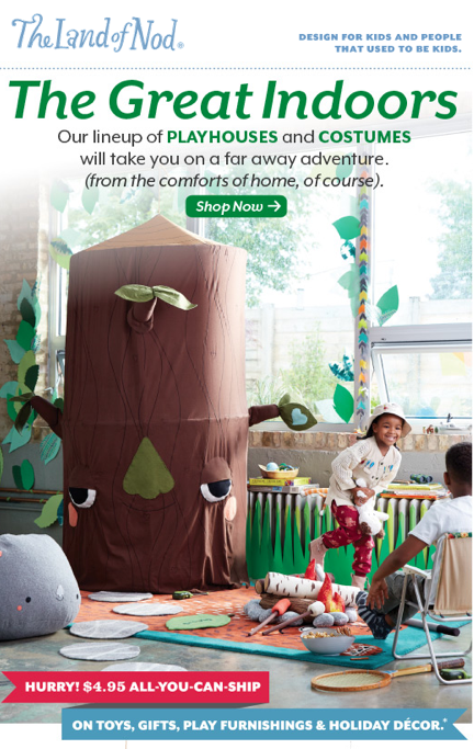 Land of Nod September 2015 Catalog