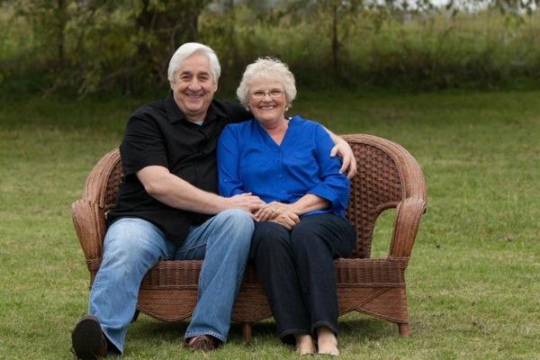 My dear friends Joe and Alice Beam.
