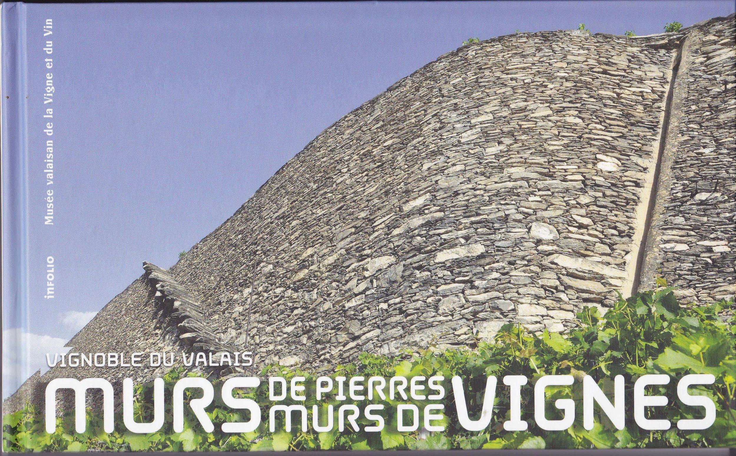 """Livre """"Murs de pierres, murs de vignes"""""""
