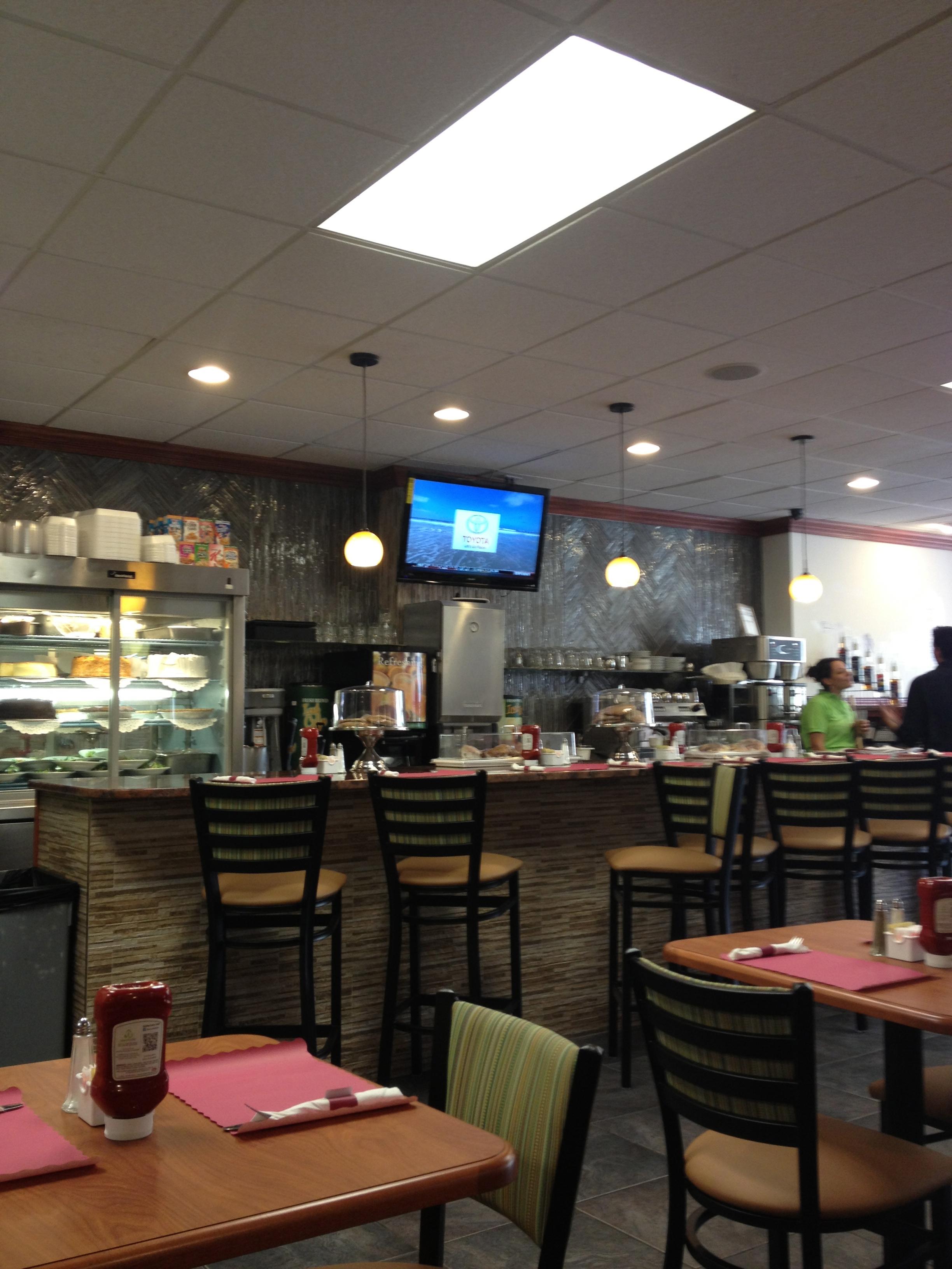 interior at Manny's Dinner