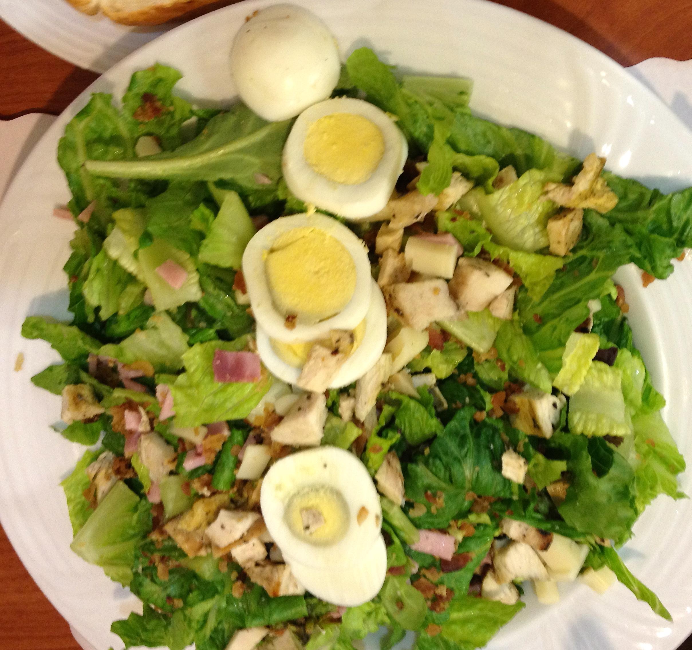 Cobb Salad at Manny's Diner.