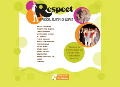 Respect-A Musical Journey-theatrical