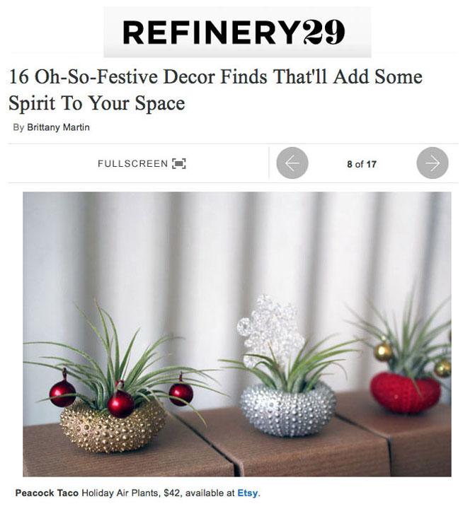 refinery29 - gift guide -december 2012